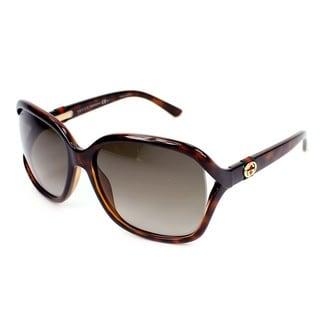 Gucci Womens GG3646/S 0DWJ Rectangular Sunglasses