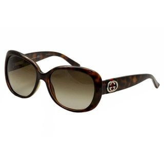 Gucci Womens GG3644/S 0DWJ Oval Modified Sunglasses