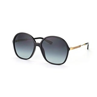 Gucci Womens GG3844/S 06UB Oval Sunglasses
