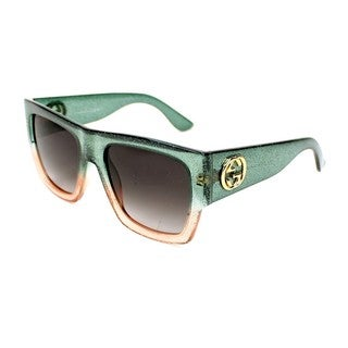 Gucci Womens GG3817/S 0RMQ Rectangular Sunglasses