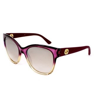 Gucci Womens GG3786/S 0LVZ Rectangular Sunglasses