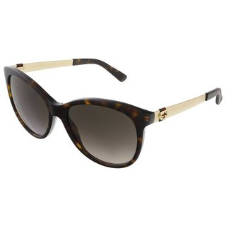 Gucci Womens GG3784/S 0ANT Round Sunglasses