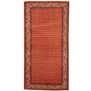 Herat Oriental Persian Hand-knotted Mir Wool Rug (2'2 x 4'3)