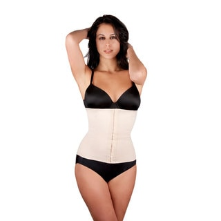 Extreme Women's Celebrity Nude Rubber and Cotton Shapewear Waist Trainer
