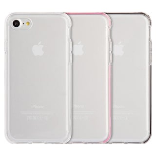 Apple Iphone 7 Ultra Thin Agua Clear Clear Inner Frame Invisible Bumper Hybrid Case