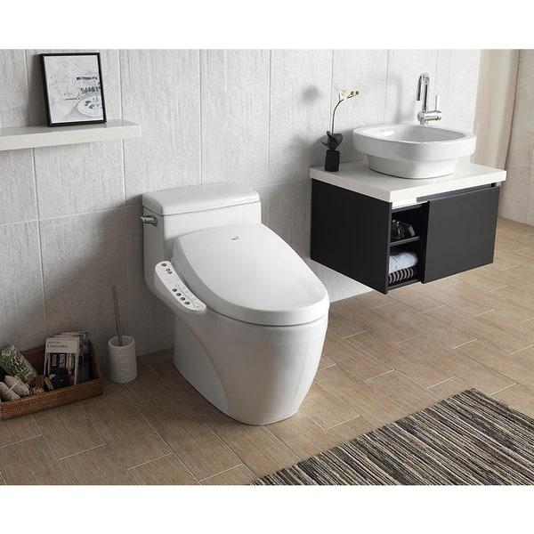 Magnificent Shop Bio Bidet A7 Aura Bidet Toilet Seat On Sale Free Pdpeps Interior Chair Design Pdpepsorg
