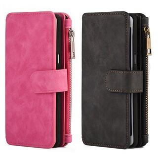 Luxury Coach Series Samsung Galaxy Note 7 Flip Wallet Case