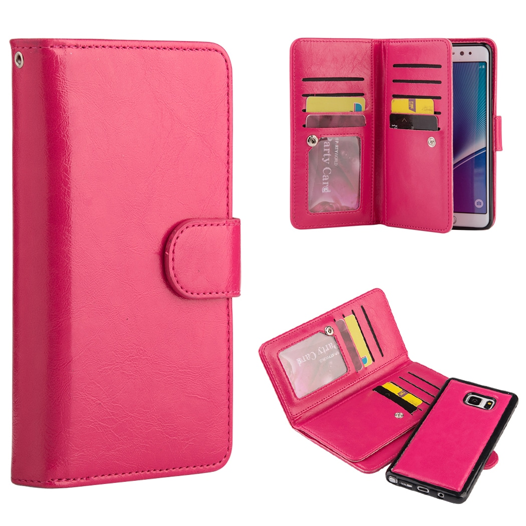 Timberland Double Flip Leather Wallet With Magnetic Phone...