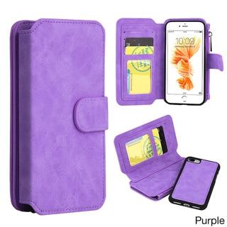Luxury Coach Series Apple iPhone 7 Plus Flip Wallet Case
