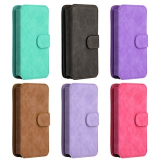 Luxury Coach Series Apple iPhone 7 Plus Flip Wallet Case