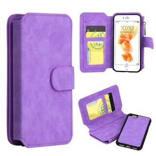 Apple iPhone 7 Luxury Coach Series Flip Wallet Case