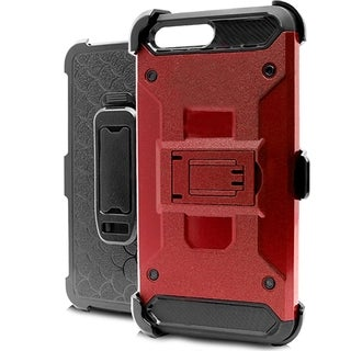 iPhone 7 Black Polycarbonate Heavy-duty Tactical Combo Case