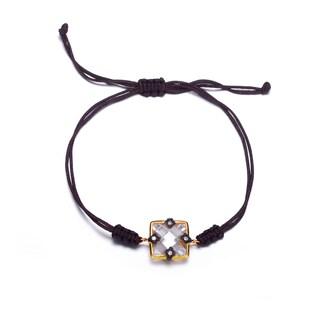 Collette Z Gold Overlay Rope Bracelet