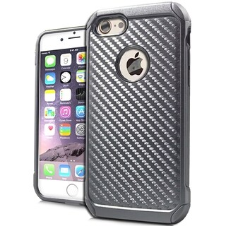 Black Carbon Fiber Shock Case for iPhone 7 Plus
