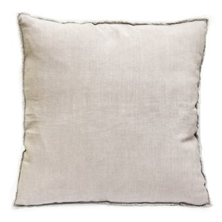 Sagebrook Home Taupe Linen Decorative Pillow