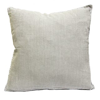 Sagebrook Home Juno Taupe Linen Decorative Pillow