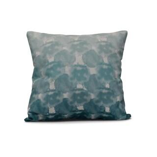 E by Design 20-inch Beach Clouds Geometric Print Pillow