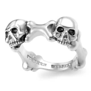 Stephen Webster Men's Sterling Silver Skull and Bones Band Ring|https://ak1.ostkcdn.com/images/products/12857414/P19620172.jpg?impolicy=medium