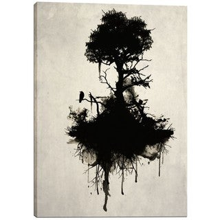 Cortesi Home Nicklas Gustafsson 'Last Tree Standing' Giclee-print Canvas Wall Art