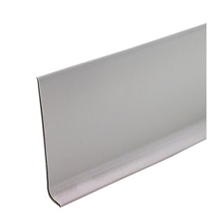 "M-D 73898 4"" X 60' Silver Gray Vinyl Dryback Wall Base"