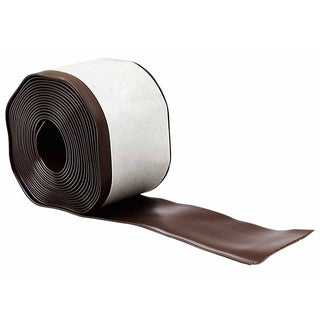 "M-D 93161 4"" X 20' Brown Cove Wall Base Vinyl Rolls"