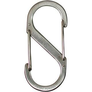 Nite Ize SB2-03-11 2 Lb Stainless Finish S-Biner