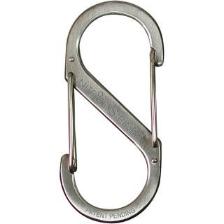 Nite Ize SB2-03-11 2 Lb Stainless Finish S-Biner|https://ak1.ostkcdn.com/images/products/12857838/P19620287.jpg?impolicy=medium