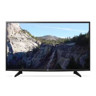 LG Black 49-inch 4K Ultra High-definition Smart WiFi LED HDTV