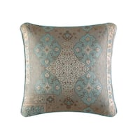 Five Queens Court Abigail 18-inch Square Woven Decorative Pillow