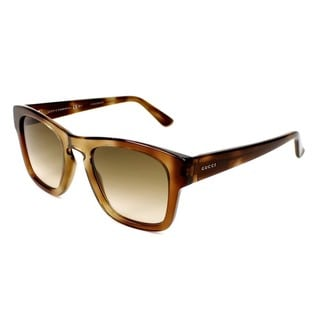 Gucci Womens GG3791/S 0OHO Rectangular Sunglasses