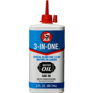 3 IN ONE 101456 3 Oz 3-In-One Oil Electric Motor Lubricant