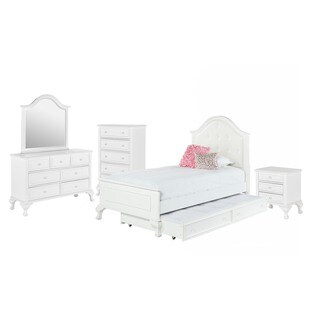 Picket House Furnishings Jenna Twin Panel w/ Trundle 5PC Bedroom Set