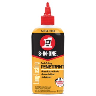 3 IN ONE 12001/120015 4 Oz 3 In 1 Fast Acting Penetrating Drip Oil