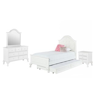 Picket House Furnishings Jenna Twin Panel w/ Trundle 4PC Bedroom Set