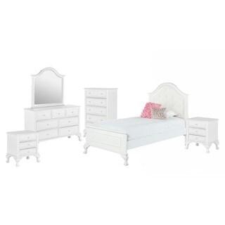 Picket House Furnishings Jenna Twin Panel 6PC Bedroom Set