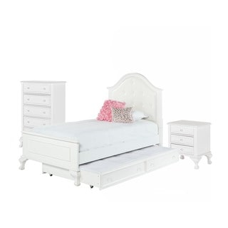 Picket house Jenna Twin Bed with Trundle 3 PC Set