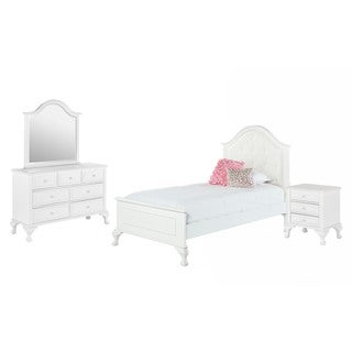 Picket House Furnishings Jenna Twin Panel 4PC Bedroom Set
