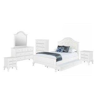 Picket House Furnishings Jenna Full Panel w/ Trundle 6PC Bedroom Set