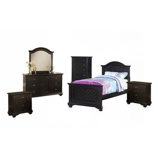 Picket house Addison Black Twin 6PC Set