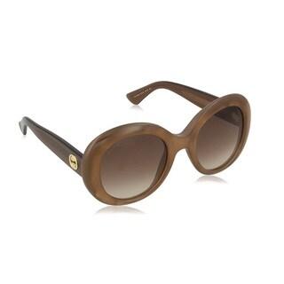Gucci Womens GG3815/S 0R3V Oval Sunglasses