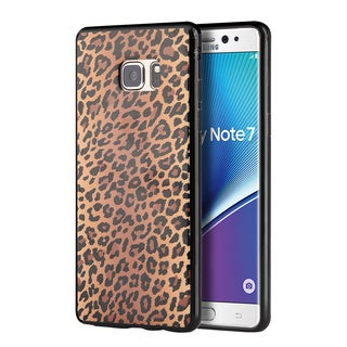 Samsung Galaxy Note 7 TPU Leopard Black Case