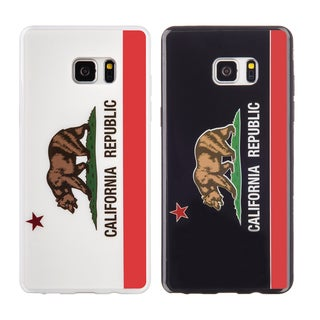 Samsung Galaxy Note 7 Black TPU California Protective Case