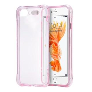 Blue TPU Apple iPhone 7 Plus Pure Light Shockproof Crystal Case