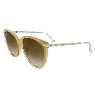 Gucci Womens GG3771/S 0HR3 Round Sunglasses