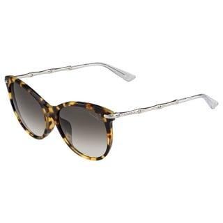 Gucci Womens GG3777/F/S 0HRT Oval Sunglasses