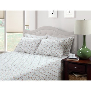 214 West Ditsy Floral Jenna 300 Thread Count Cotton Blend Sheet Set