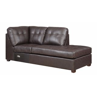 Picket house Calvin RHF Tufted Chaise- Sectional Piece