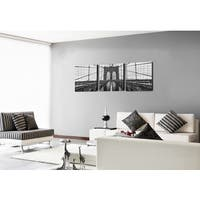 Furinno SENIC 'Brooklyn Bridge' Canvas on Wood 60-inch x 20-inch 3-panel Frame