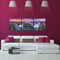 Furinno 'Niagara Falls' 3-panel Canvas