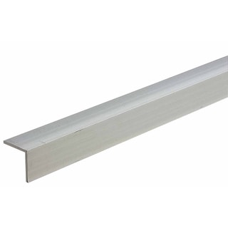 "M-D 60855 1"" X 48"" Mill Aluminum Equal Leg Angle Bar Stock"